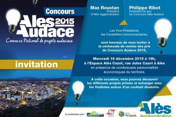 concours Alès Audace 2016